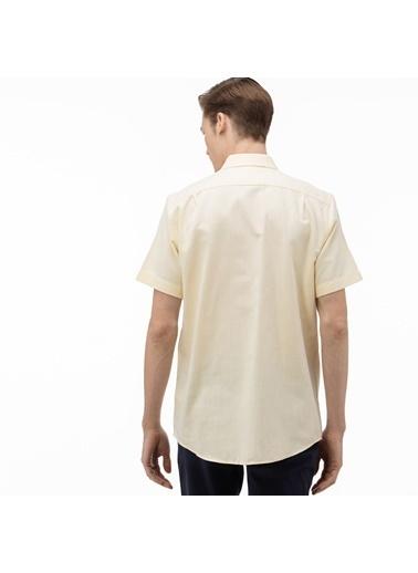 Lacoste Erkek Regular Fit Gömlek CH0017K.17S Sarı